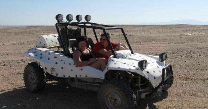 Sunset Car Buggy Safari Excursion