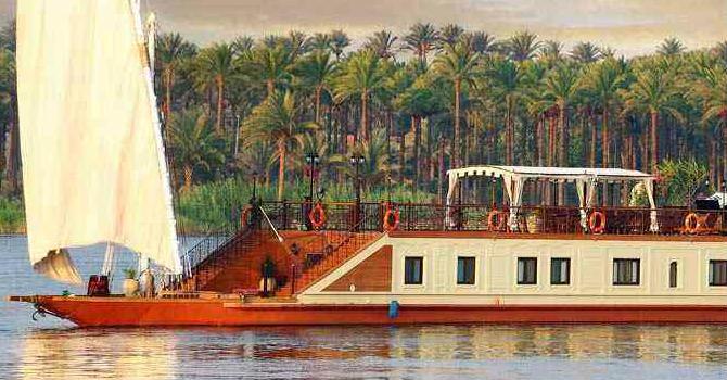 Cairo & Sonesta Amirat Dahabiya Cruise Trips