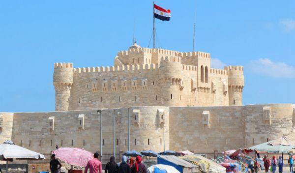 Qaitbay Castle Cruise Trippers, Alexandria, Egypt.