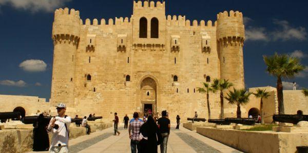 Qaitbay Castle Discount Traveling, Alexandria, Egypt.