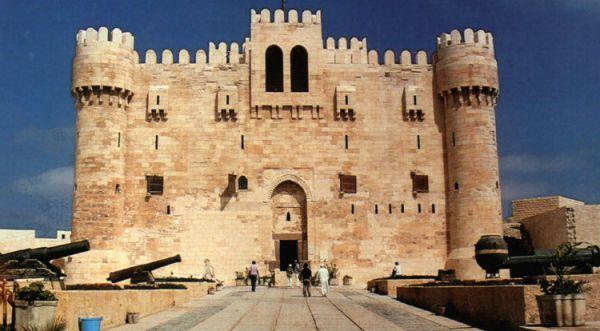 Qaitbay Citadel Budget Tripping, Alexandria, Egypt.
