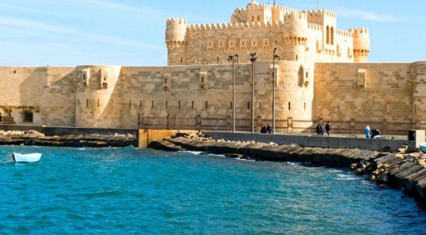 Qaitbay Citadel Cheap Touring, Alexandria, Egypt.