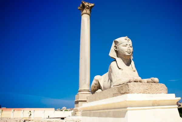 Pompey Pillar Budget Tripping, Alexandria, Egypt.