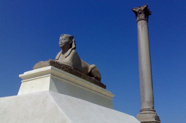 Pompey Pillar Cheap Touring, Alexandria, Egypt.
