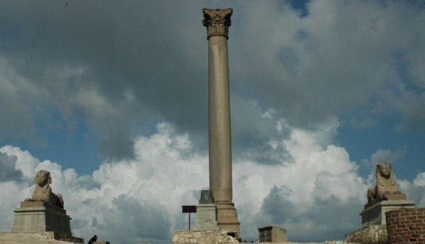 Pompey Pillar Discount Tourism, Alexandria, Egypt.