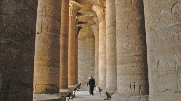 Edfu Temple Budget Tripping, Aswan, Egypt.