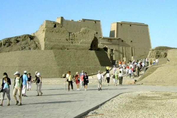 Edfu Temple Cheap Tours, Aswan, Egypt.