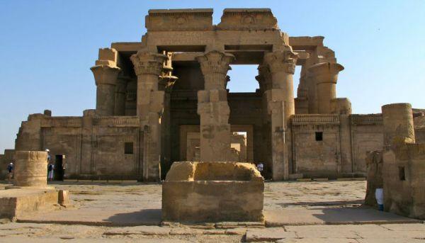 Sobek Temple Budget Travel, Kom Ombo, Aswan.