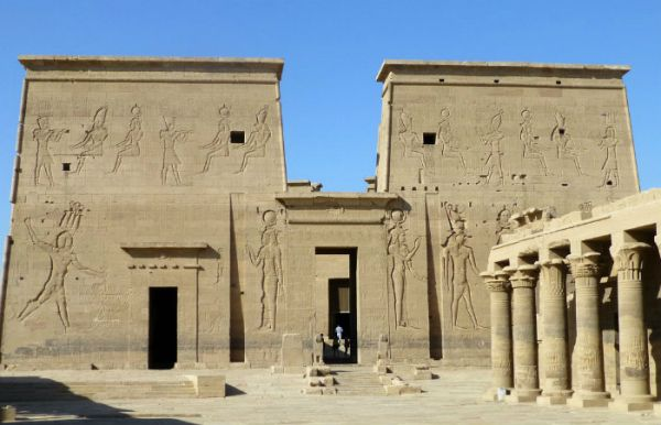 Philae Temple Touring, Aswan, Egypt.