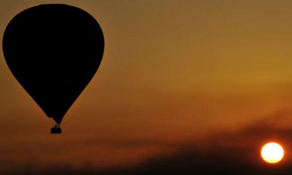 Hot Air Balloon Flight, Luxor, Egypt.