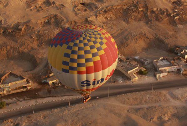 Hot Air Balloon Flights, Luxor, Egypt.