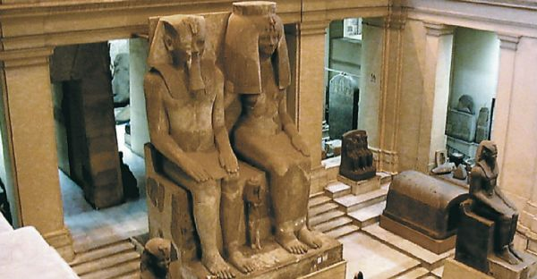 Egyptian Museum, Cairo Budget Tripping, Egypt.