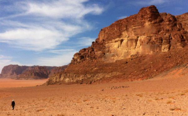 Wadi Rum Low Cost Jeep Travel, Jordan.