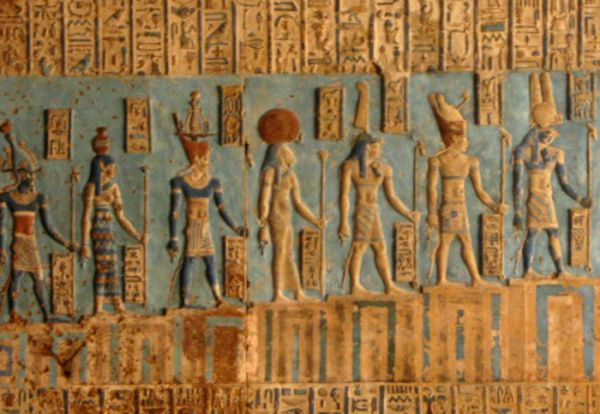 Dendera Temple, Luxor Cheap Tripping, Egypt.
