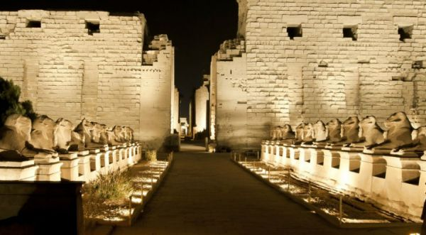 Karnak Temple, Luxor Low Cost Tours, Egypt.