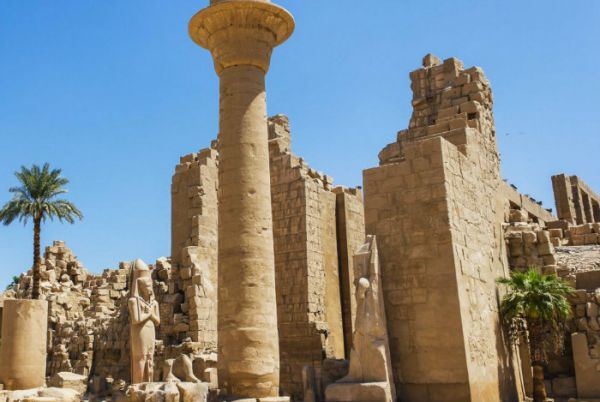 Karnak Temples, Luxor Budget Tripping, Egypt.