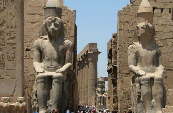 Luxor Temple, Luxor Cheap Tours, Egypt.