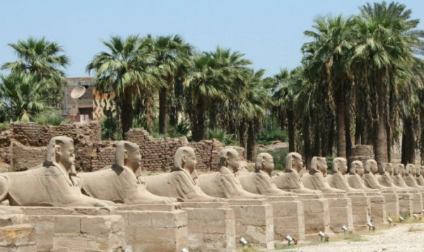 Luxor Temple, Luxor Discount Travel, Egypt.