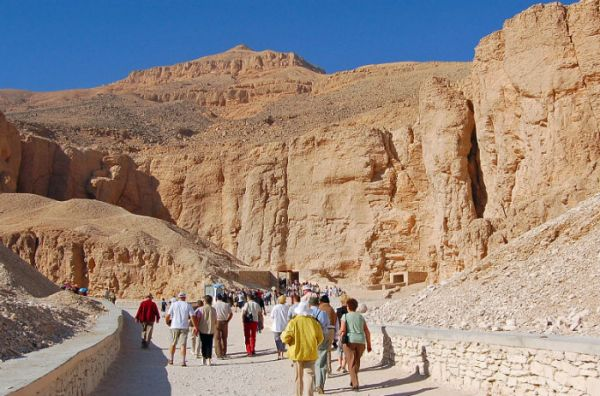 Valley of Kings, Low Cost Luxor Tripping, Egypt.