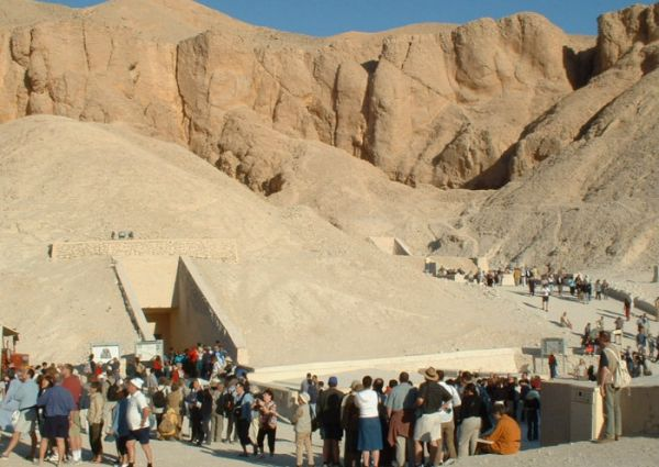 Valley of Kings, Luxor Trippers, Egypt.