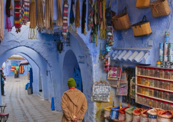 Chefchaouen Low Cost Travel, Morocco