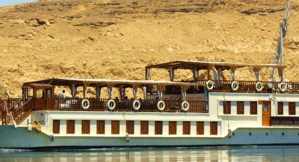 Sonesta Dahabiya Amirat Nile Cruising Deal.