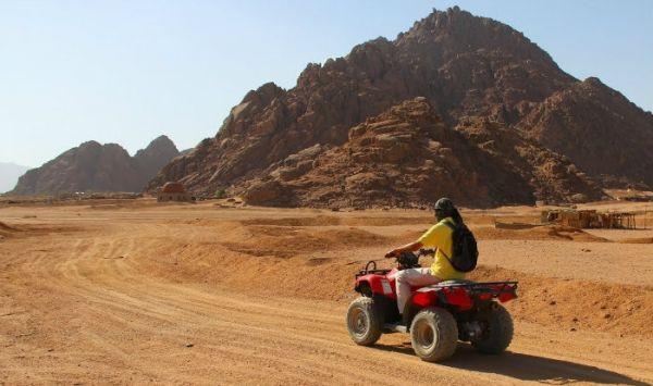 Dune Buggies Budget Adventure in Egypt Desert.