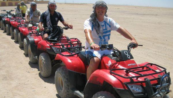 Dune Buggy Discount Adventure in Arabian Desert.