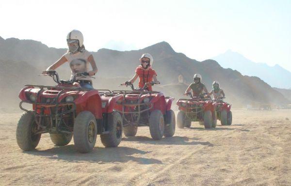 Quad Bike Discount Adventure in Egypt Desert.