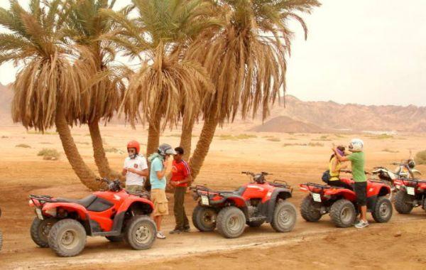 Quadbikes Cheap Safari in Egyptian Desert.