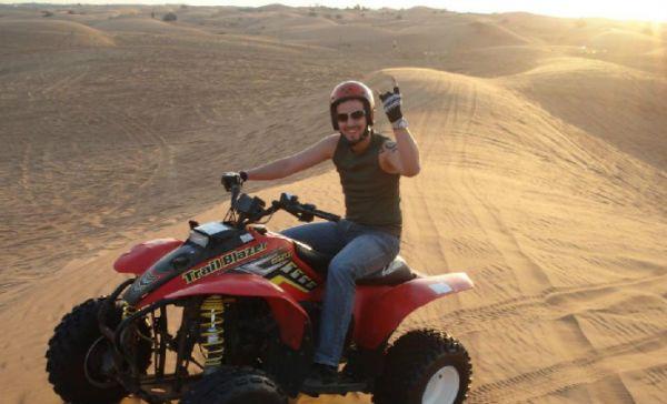 Quadrunner Low Cost Safari in Egyptian Desert.