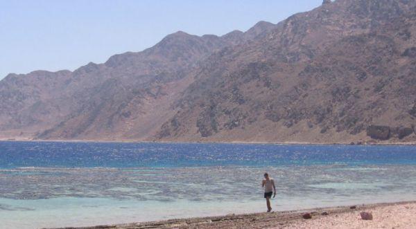 Blue Hole Discount Dive, Ras Abu Galoum, Dahab.