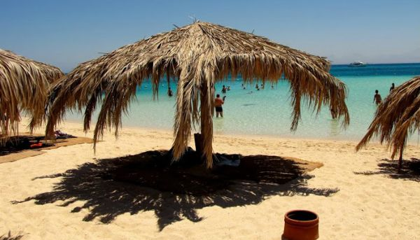 Sharm El Naga Snorkeler, Red Sea Coast.
