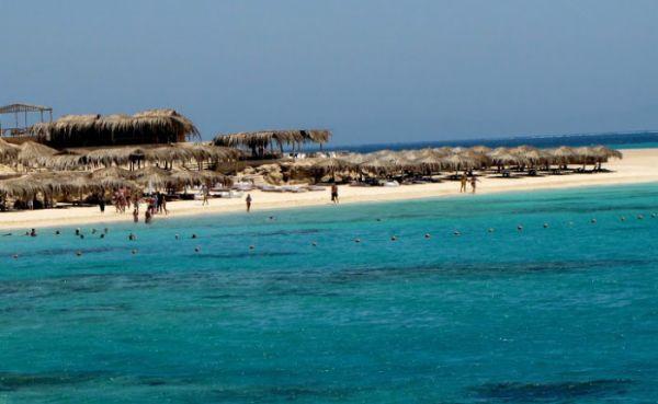 Sharm El Naga Snorkelers, Red Sea Resort.