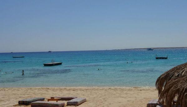 Sharm El Naga Swim, Red Sea Beach.