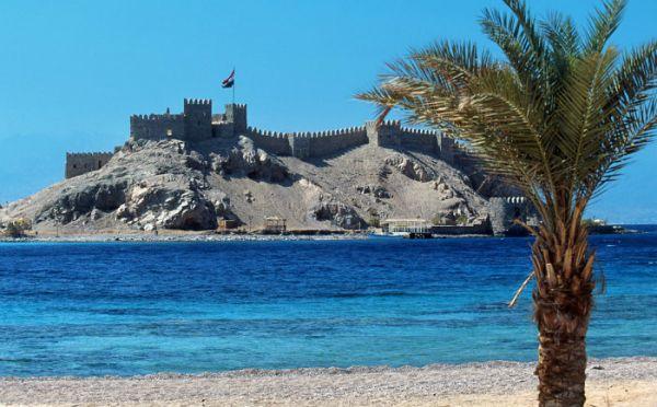 Pharaoh's Island Snorkeling, Taba Coast.