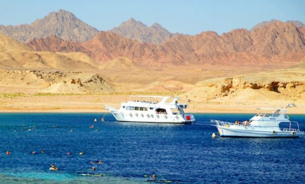 Ras Mohamed Discount Swimming, Red Sea Coast.