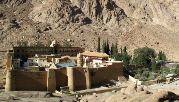 Saint Catherine's Monastery Trippers, Egypt.