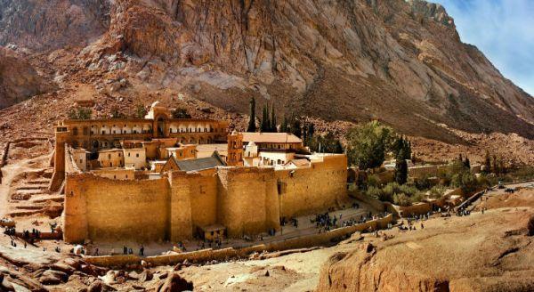 Sinai Monastery Budget Traveling, Egypt.