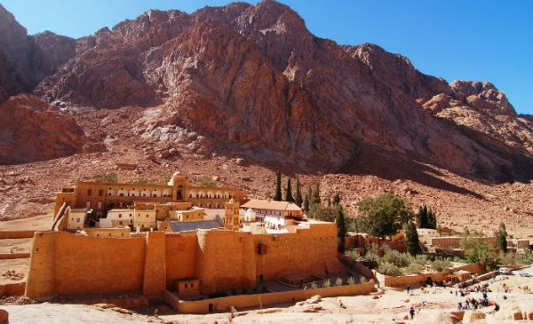 Sinai Monastery Low Cost Travel, Egypt.