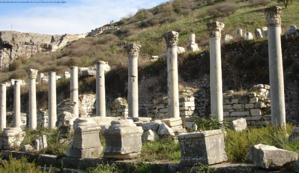 Ancient Ephesus Touring, Turkey.