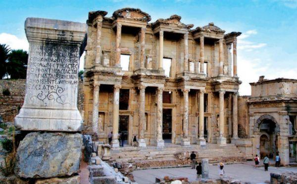 Ancient Ephesus Traveler, Turkey.