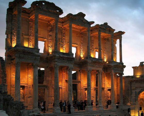 Ancient Ephesus Tripping, Turkey.