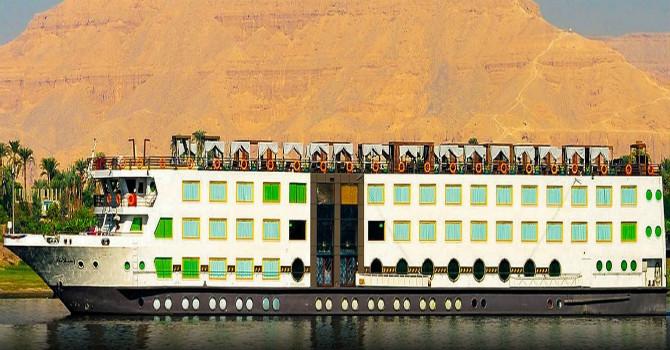 4 Day Nile Cruise | Ms Esplanade Nile River Cruise | Aswan to Luxor Cruise