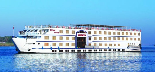 4 Day Movenpick Royal Lotus Nile Cruise