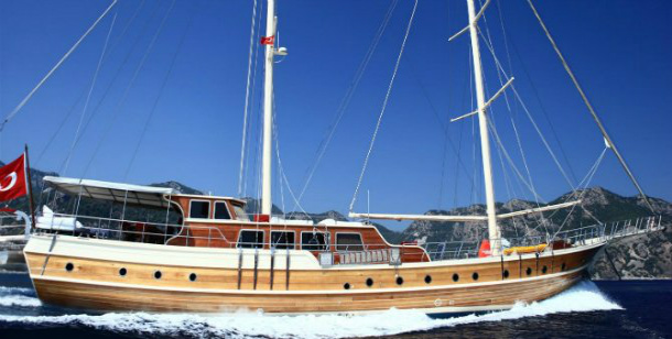 5 Day Gulet Charter Turkey