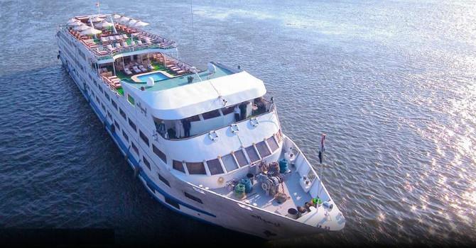 Ms Salacia Nile Cruise | 5 Day Nile Cruise | Luxor to Aswan Cruise