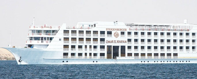 5 Day MS Omar El Khayam Lake Cruise