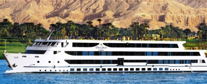 Oberoi Zahra Nile Cruise 8 Days