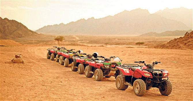 Marsa Alam Quad Tour & BBQ Dinner